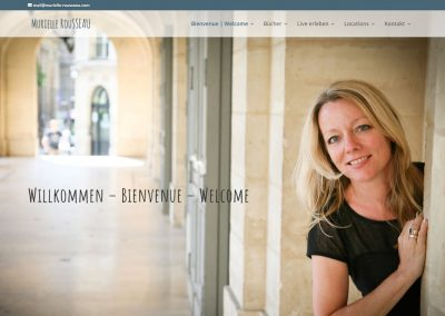 Webseite Murielle Rousseau