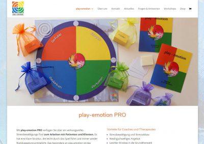 Webseite von play-emotion