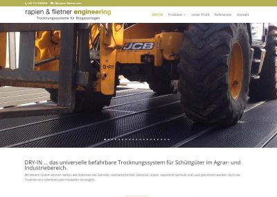 Webseite rapien & flietner engineering
