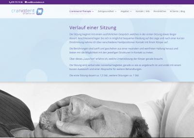 Webseite craniodent