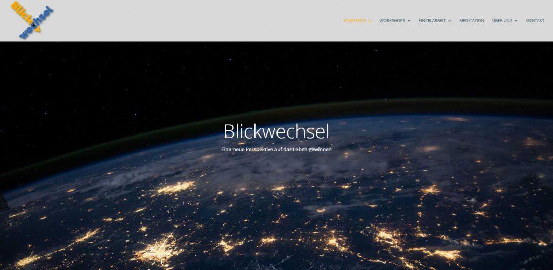 Webseite Gestalttherapie Blickwechsel